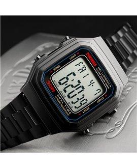 Ρολόι χειρός ανδρικό SKMEI 1337 BLACK