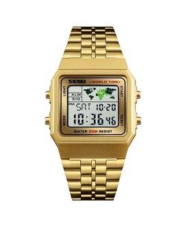 Ρολόι χειρός ανδρικό SKMEI 1338 GOLD