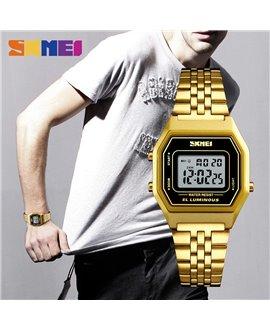 Ρολόι χειρός ανδρικό SKMEI 1345 GOLD/BLACK
