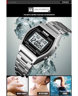 Ρολόι χειρός ανδρικό SKMEI 1328 SILVER