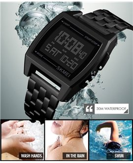Ρολόι χειρός ανδρικό SKMEI 1368 BLACK