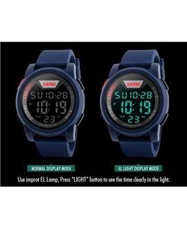 Αθλητικό ρολόι χειρός ανδρικό SKMEI 1218 BLUE