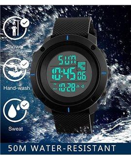 Αθλητικό ρολόι χειρός ανδρικό SKMEI 1213 BLUE