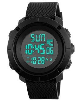 Αθλητικό ρολόι χειρός ανδρικό SKMEI 1213 BLACK SMALL