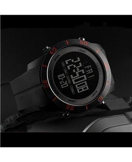 Ρολόι με πυξίδα χειρός ανδρικό SKMEI 1354 BLACK/RED