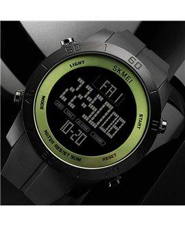 Ρολόι με πυξίδα χειρός ανδρικό SKMEI 1354 GREEN/BLACK