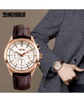 Ρολόι χειρός ανδρικό SKMEI 9127 WHITE