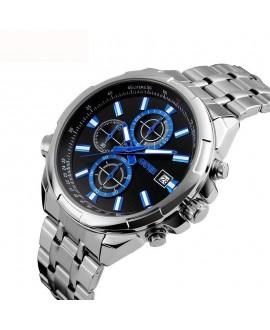 Ρολόι χειρός ανδρικό SKMEI 9107 SILVER BLACK