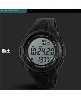 Ρολόι με βηματομετρητή χειρός ανδρικό SKMEI 1108 BLACK