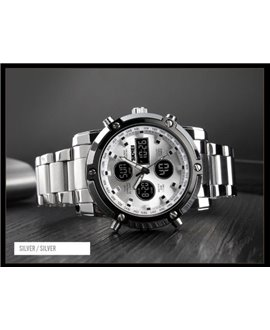Ρολόι χειρός ανδρικό SKMEI 1389 SILVER