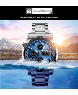 Ρολόι χειρός ανδρικό SKMEI 1389 BLUE