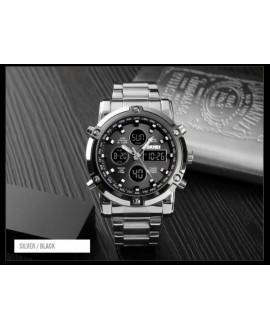 Ρολόι χειρός ανδρικό SKMEI 1389 SILVER/BLACK