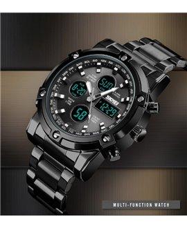 Ρολόι χειρός ανδρικό SKMEI 1389 BLACK