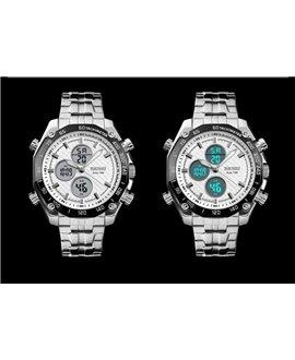 Ρολόι χειρός ανδρικό SKMEI 1302 SILVER/WHITE