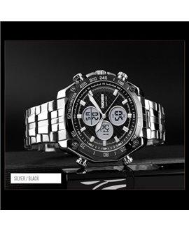 Ρολόι χειρός ανδρικό SKMEI 1302 SILVER/BLACK