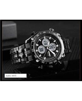 Ρολόι χειρός ανδρικό SKMEI 1302 BLACK/WHITE