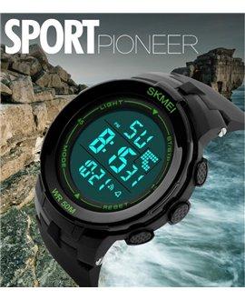 Αθλητικό ρολόι χειρός ανδρικό SKMEI 1127 GREEN
