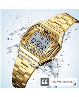 Ρολόι χειρός γυναικείο SKMEI 1415 GOLD