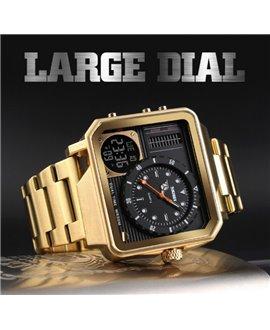 Ρολόι χειρός ανδρικό SKMEI 1392 GOLD