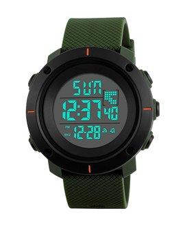 Αθλητικό ρολόι χειρός ανδρικό SKMEI 1213 ARMY GREEN SMALL