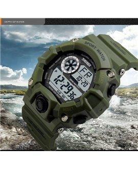 Ρολόι χειρός ανδρικό SKMEI 1019 ARMY GREEN