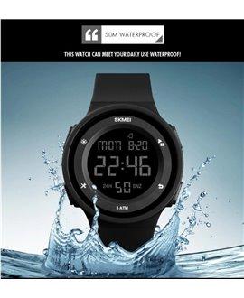 Ρολόι χειρός ανδρικό SKMEI 1445 BLACK