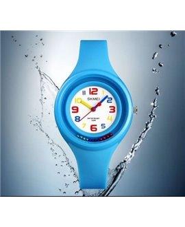 Ρολόι χειρός παιδικό SKMEI 1386 LIGHT BLUE