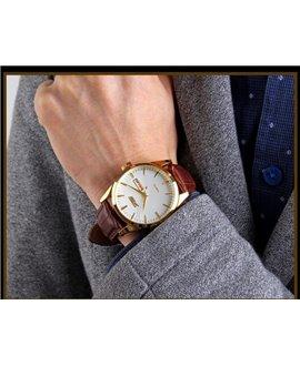 Ρολόι χειρός ανδρικό SKMEI 9073 GOLD/WHITE