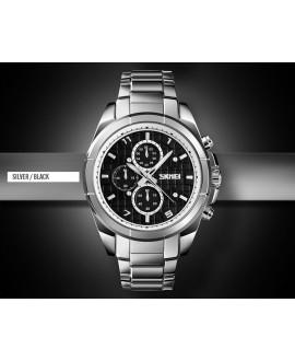 Ρολόι χειρός ανδρικό SKMEI 1378 SILVER/BLACK