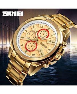 Ρολόι χειρός ανδρικό SKMEI 1378 GOLD