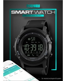 Ρολόι με βηματομετρητή χειρός ανδρικό SKMEI 1321 BLACK