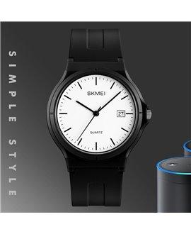Ρολόι χειρός γυναικείο SKMEI 1449 BLACK/WHITE