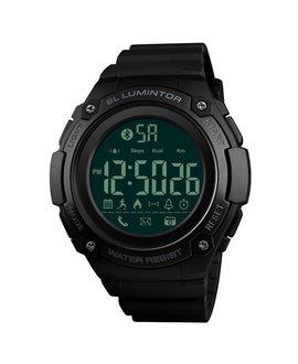 Ρολόι με βηματομετρητή χειρός ανδρικό SKMEI 1347 BLACK