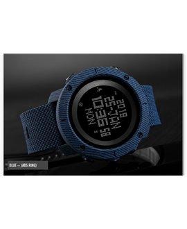 Ρολόι με πυξίδα χειρός ανδρικό SKMEI 1430 BLUE