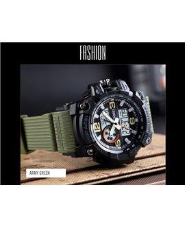 Αθλητικό ρολόι χειρός γυναικείο SKMEI 1436 ARMY GREEN