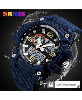 Αθλητικό ρολόι χειρός γυναικείο SKMEI 1436 DENIM BLUE