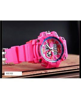 Αθλητικό ρολόι χειρός γυναικείο SKMEI 1436 ROSE RED