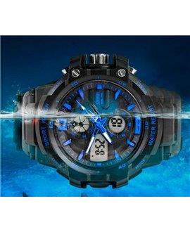 Αθλητικό ρολόι χειρός παιδικό SKMEI 1012 BLUE