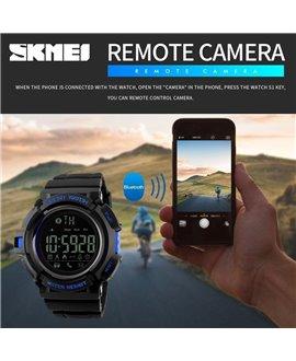 Ρολόι με βηματομετρητή χειρός ανδρικό SKMEI 1245 BLUE