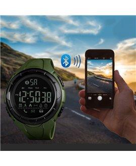 Ρολόι με βηματομετρητή χειρός ανδρικό SKMEI 1326 GREEN