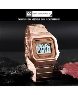 Ρολόι χειρός ανδρικό SKMEI 1377 ROSE GOLD