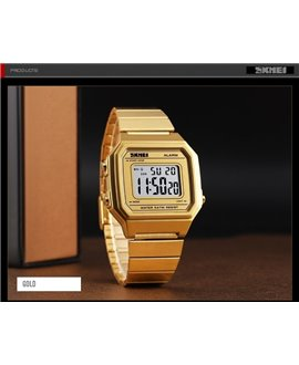 Ρολόι χειρός ανδρικό SKMEI 1377 GOLD