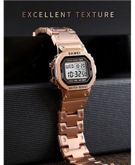 Ρολόι χειρός ανδρικό SKMEI 1456 ROSE GOLD