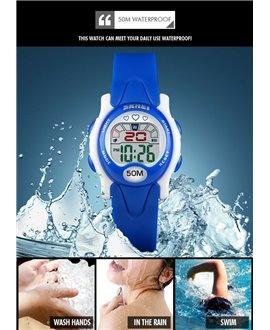 Αθλητικό ρολόι χειρός παιδικό SKMEI 1478 DARK BLUE