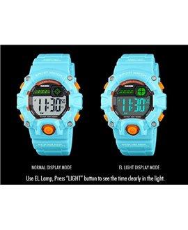 Αθλητικό ρολόι χειρός παιδικό SKMEI 1484 LIGHT BLUE