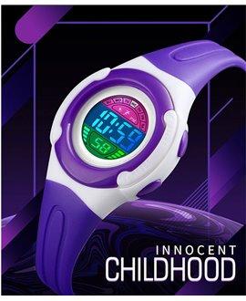 Αθλητικό ρολόι χειρός παιδικό SKMEI 1479 PURPLE