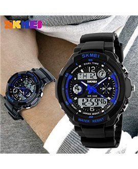 Ρολόι αθλητικό αδιάβροχο παιδικό SKMEI 1060 BLUE