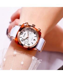 Ρολόι χειρός γυναικείο SKMEI 9186 WHITE/ROSE GOLD