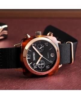 Ρολόι χειρός γυναικείο SKMEI 9186 BLACK/ROSE GOLD
