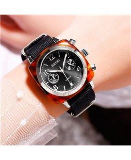 Ρολόι χειρός γυναικείο SKMEI 9186 BLACK/SILVER